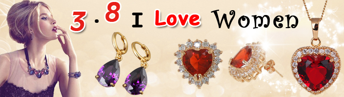 March, 8th Women\\\\\\\'s Day Jewelry Promotion
