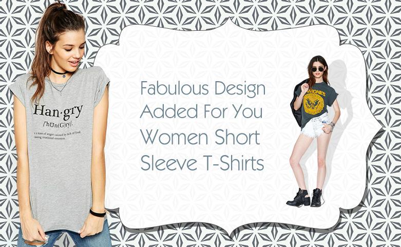 Women Short Sleeve T-Shirts