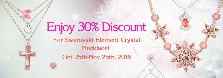 CRYSTALLIZED™ Element Crystal Necklace