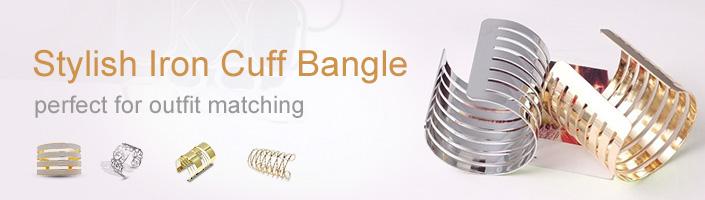 Iron Cuff Bangle
