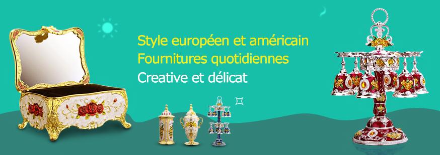 Style européen et américain Fournitures quotidiennes