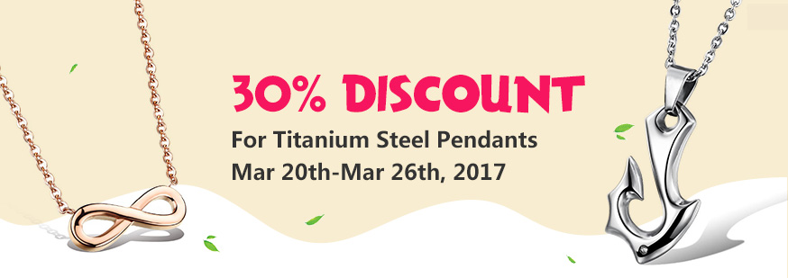 Titanium Steel Pendants